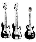 バンドや軽音楽のデザインの一部に