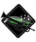 吹奏楽のおとが伝わるデザイン