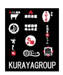 系列グループ店のロゴをまとめてプリントすることもできます