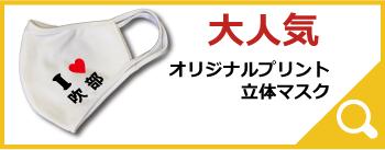 大人気オリジナルプリント立体マスク