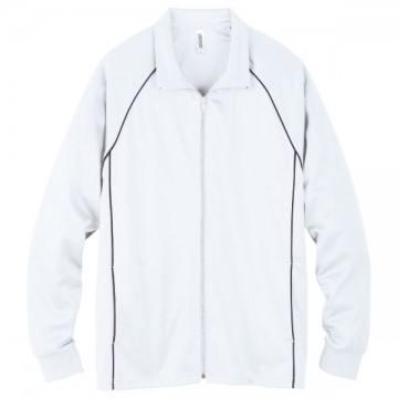 ジャージジャケット001.ホワイト