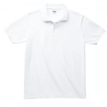 T/Cポロシャツ(ポケット無)001.ホワイト
