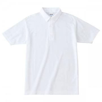 ボタンダウンポロシャツ001.ホワイト