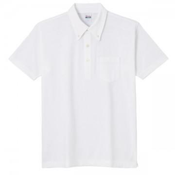スタンダードB/Dポロシャツ(ポケット付き)001.ホワイト