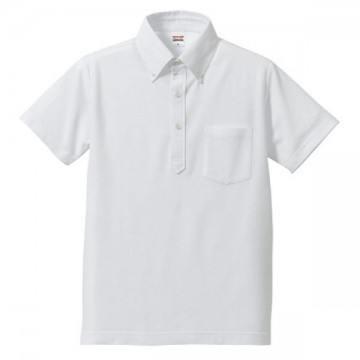 ドライカノコユーティリティポロシャツ001.ホワイト