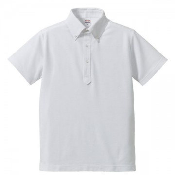 ドライカノコユーティリティーポロシャツ001.ホワイト