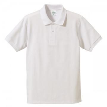 ハイブリッドポロシャツ001.ホワイト