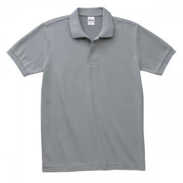 T/Cポロシャツ(ポケット無)002.グレー