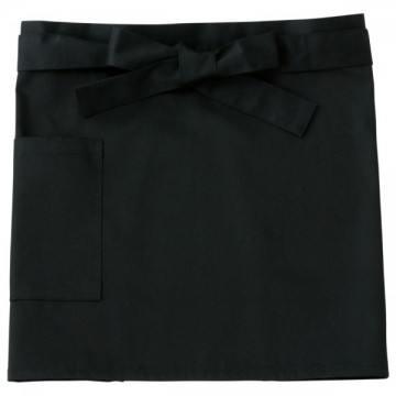 ショートエプロン005.ブラック