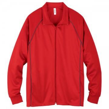 ジャージジャケット010.レッド