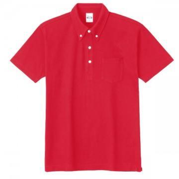 スタンダードB/Dポロシャツ(ポケット付き)010.レッド