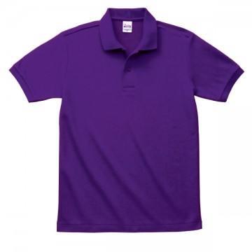 T/Cポロシャツ(ポケット無)014.パープル
