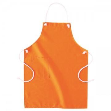 カラーエプロン015.オレンジ