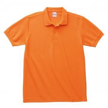 T/Cポロシャツ(ポケット無)015.オレンジ