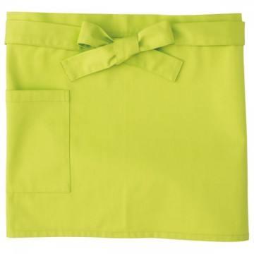 ショートエプロン024.ライトグリーン