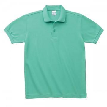 T/Cポロシャツ(ポケット無)026.ミントグリーン