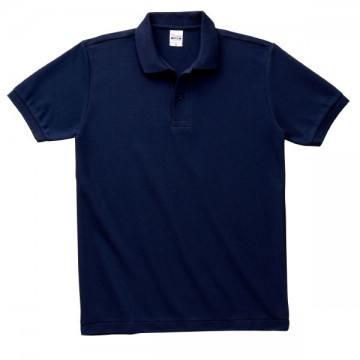 T/Cポロシャツ(ポケット無)031.ネイビー