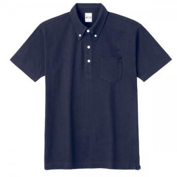 スタンダードB/Dポロシャツ(ポケット付き)031.ネイビー