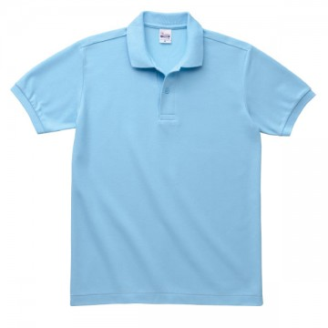 T/Cポロシャツ(ポケット無)033.サックス