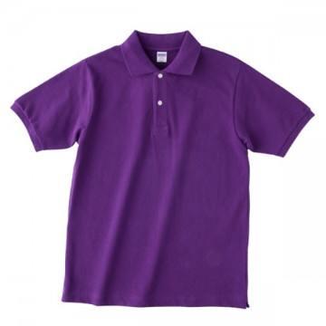 【SALE】ヘビーウエイトコットンポロシャツ062.パープル