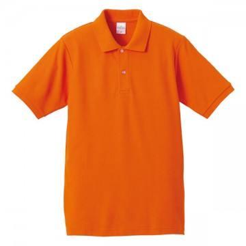 ハイブリッドポロシャツ064.オレンジ