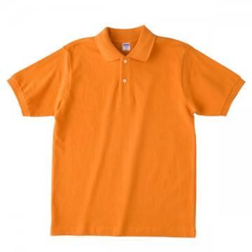 【SALE】ヘビーウエイトコットンポロシャツ064.オレンジ