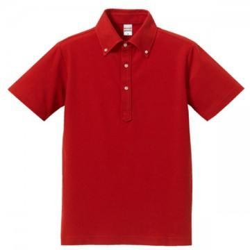 ドライカノコユーティリティーポロシャツ069.レッド