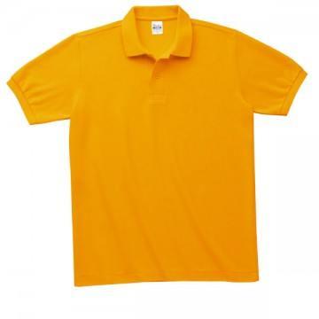 T/Cポロシャツ(ポケット有り)077.ゴールドイエロー