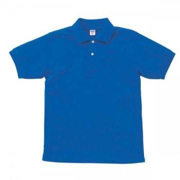 【SALE】ヘビーウエイトコットンポロシャツ085.ロイヤルブルー