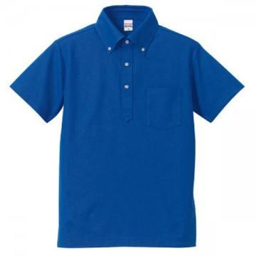 ドライカノコユーティリティポロシャツ085.ロイヤルブルー