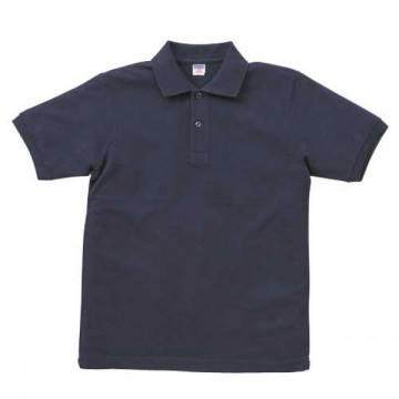 ヘビーウエイトコットンポロシャツ086.ネイビー