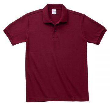 T/Cポロシャツ(ポケット無)112.バーガンディ
