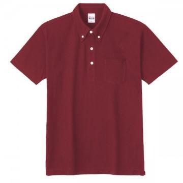 スタンダードB/Dポロシャツ(ポケット付き)112.バーガンディ