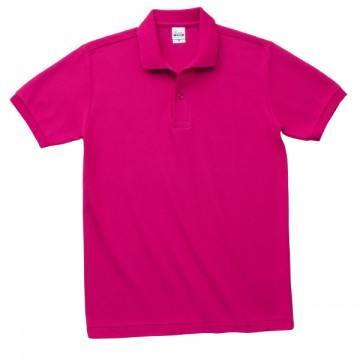 T/Cポロシャツ(ポケット無)146.ホットピンク