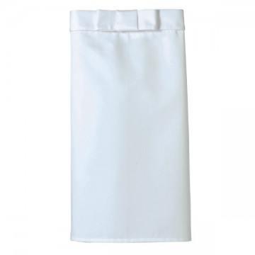 調理用ミドルエプロン15.ホワイト