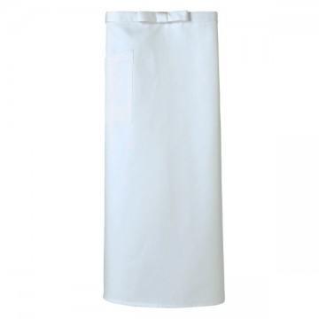 調理用ソムリエエプロン15.ホワイト
