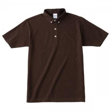 ボタンダウンポロシャツ168.チョコレート