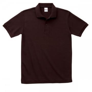 T/Cポロシャツ(ポケット無)168.チョコレート