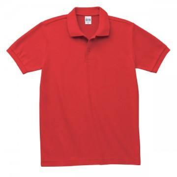 T/Cポロシャツ(ポケット無)172.ブライトレッド