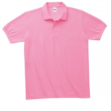 T/Cポロシャツ(ポケット無)181.コーラルピンク