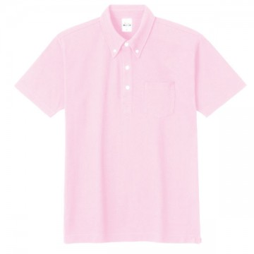 スタンダードB/Dポロシャツ(ポケット付き)191.ピーチ