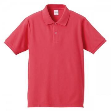 【SALE】ハイブリッドポロシャツ195.フラミンゴピンク