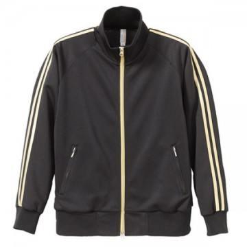 ジャージジャケット2022.ブラック×ゴールド
