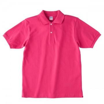 【SALE】ヘビーウエイトコットンポロシャツ511.トロピカルピンク