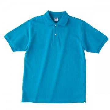 【SALE】ヘビーウエイトコットンポロシャツ538.ターコイズブルー