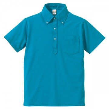 ドライカノコユーティリティポロシャツ538.ターコイズブルー