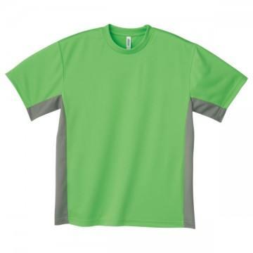 アクティブTシャツ607.ライム×グレー