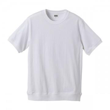 スーパーヘビーウェイトTシャツ(サイドパネル)001.ホワイト