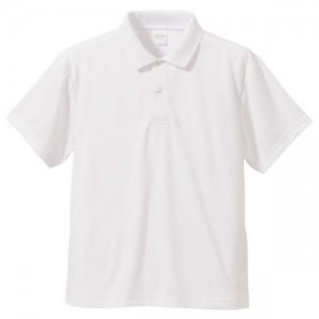 ドライアスレチックポロシャツ001.ホワイト