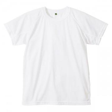 クールナイス半袖Tシャツ001.シロ